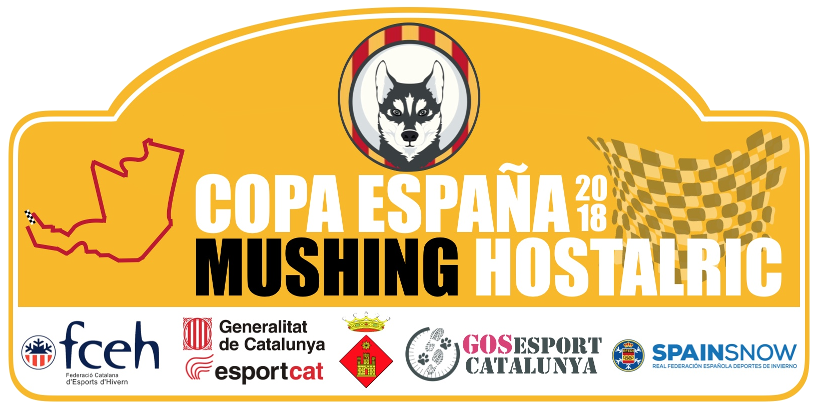 Copa España Mushing Hostalric 2018